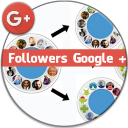 Followers Google plus