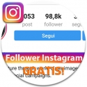 Aumentare Follower Instagram gratis