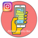 Abbonamento instagram auto like  per post